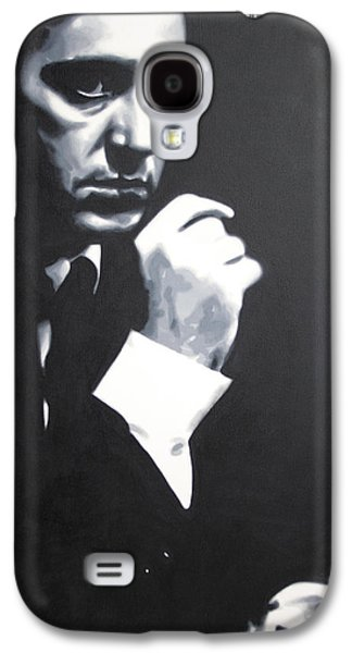 Francis Ford Coppola Galaxy S4 Cases - - The Godfather - Galaxy S4 Case by Luis Ludzska