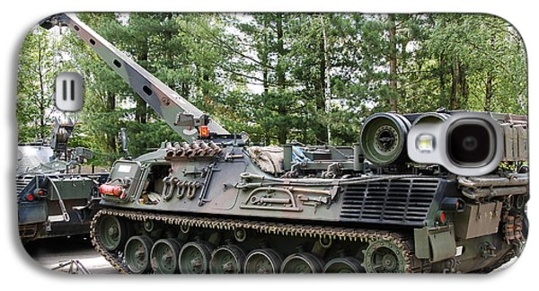 Component Photographs Galaxy S4 Cases - A Leopard 1a5 Mbt Of The Belgian Army Galaxy S4 Case by Luc De Jaeger