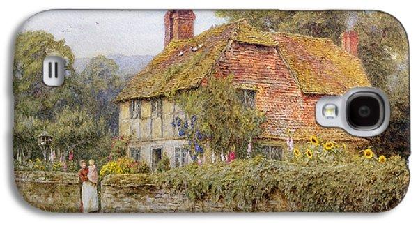 A Surrey Cottage Galaxy S4 Case by Helen Allingham