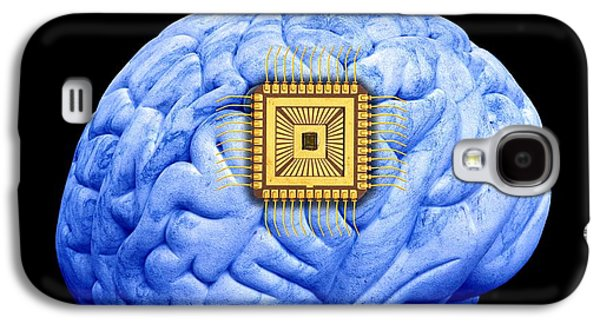 Component Galaxy S4 Cases - Artificial Intelligence And Cybernetics Galaxy S4 Case by Victor De Schwanberg
