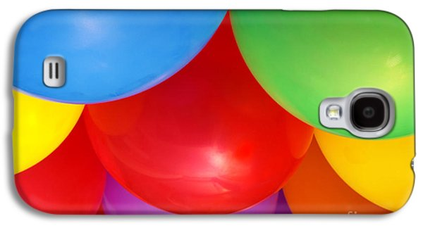 Helium Galaxy S4 Cases - Balloons Background Galaxy S4 Case by Carlos Caetano