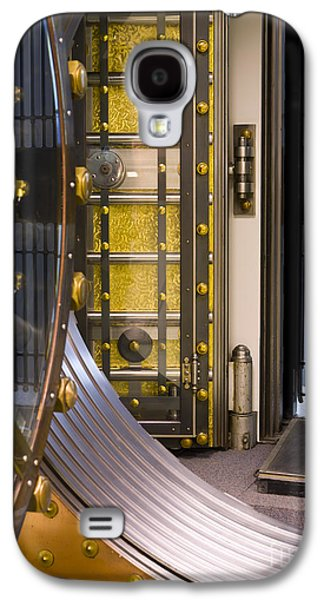 Enterprise Galaxy S4 Cases - Bank Vault Doors Galaxy S4 Case by Adam Crowley