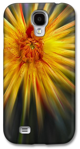 Creative Manipulation Galaxy S4 Cases - Dahla Blast Off Galaxy S4 Case by Jean Noren