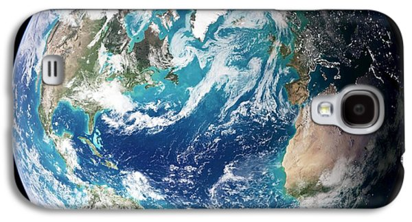 Phytoplankton Photographs Galaxy S4 Cases - Blue Marble Image Of Earth (2005) Galaxy S4 Case by Nasa Earth Observatory