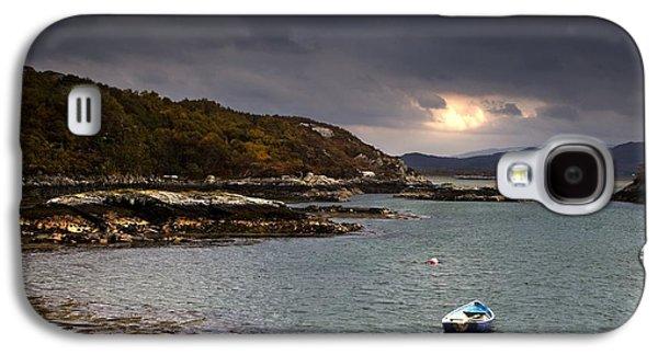 Design Pics - Galaxy S4 Cases - Boat In Water, Loch Sunart, Scotland Galaxy S4 Case by John Short