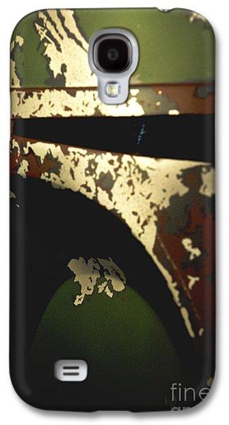 Armor Galaxy S4 Cases - Boba Fett Helmet Galaxy S4 Case by Micah May