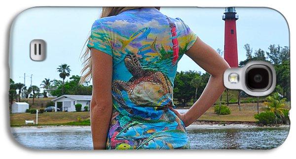 Reptiles Digital Galaxy S4 Cases - Carey Chen ladies clothing Galaxy S4 Case by Carey Chen