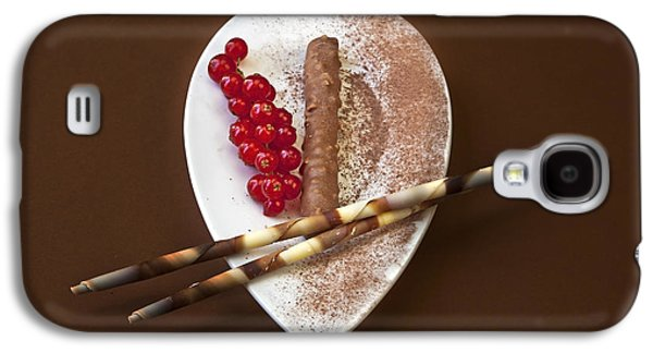 Snack Bar Galaxy S4 Cases - Chocolate Praline Galaxy S4 Case by Joana Kruse