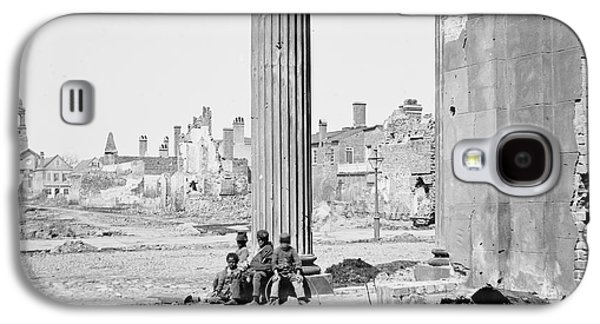 Reconstruction Galaxy S4 Cases - Civil War: Charleston, 1865 Galaxy S4 Case by Granger