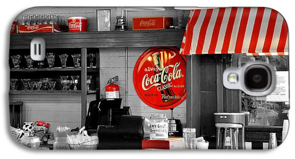 Coca-cola Signs Galaxy S4 Cases - Coca Cola Galaxy S4 Case by Todd Hostetter