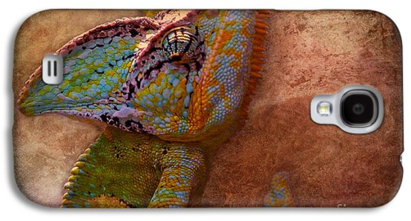 Chameleon Galaxy S4 Cases - Colored Galaxy S4 Case by Angela Doelling AD DESIGN Photo and PhotoArt