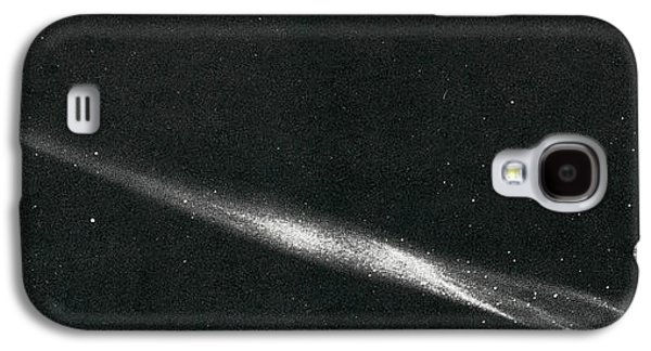 Luminous Body Galaxy S4 Cases - Comet Ikeya Seki, 1965 Galaxy S4 Case by Science Source