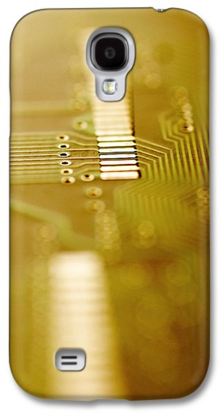 Component Photographs Galaxy S4 Cases - Computer Circuit Board Galaxy S4 Case by Tim Vernonlth Nhs Trust