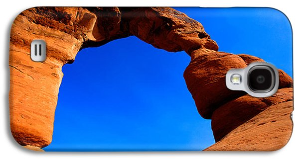 Outdoor Galaxy S4 Cases - Delicate Arch Galaxy S4 Case by Chad Dutson