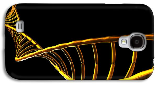 Pairings Galaxy S4 Cases - Dna Helix Galaxy S4 Case by Pasieka