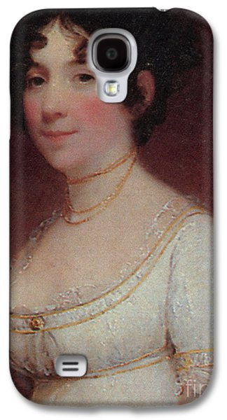Dolley Galaxy S4 Cases - Dolley Madison Galaxy S4 Case by Photo Researchers