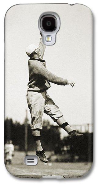 3rd Base Galaxy S4 Cases - Eddie Grant (1883-1918) Galaxy S4 Case by Granger