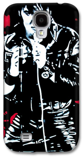 Elvis Presley Galaxy S4 Cases - Elvis Galaxy S4 Case by Luis Ludzska