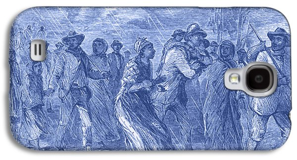 Escaping To Underground Railroad Galaxy S4 Case by Photo Researchers