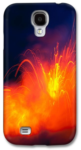 Salt Air Galaxy S4 Cases - Exploding Lava Galaxy S4 Case by Greg Vaughn - Printscapes