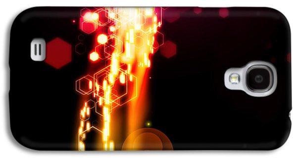 Abstract Movement Galaxy S4 Cases - Explosion Of Lights Galaxy S4 Case by Setsiri Silapasuwanchai