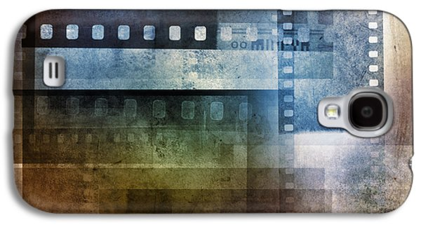 Filmstrip Galaxy S4 Cases - Film negatives Galaxy S4 Case by Les Cunliffe