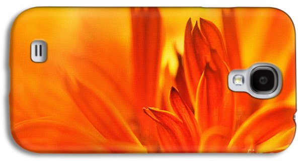 Storm Prints Mixed Media Galaxy S4 Cases - Fire Storm  Galaxy S4 Case by Elaine Manley