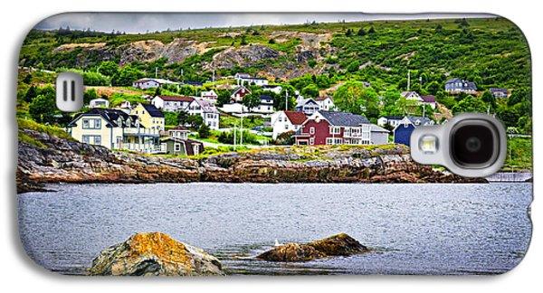 Fishing Village Galaxy S4 Cases - Fishing village in Newfoundland Galaxy S4 Case by Elena Elisseeva