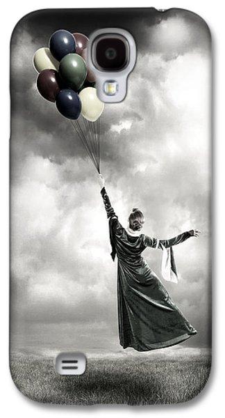 Field. Cloud Galaxy S4 Cases - Floating Galaxy S4 Case by Joana Kruse