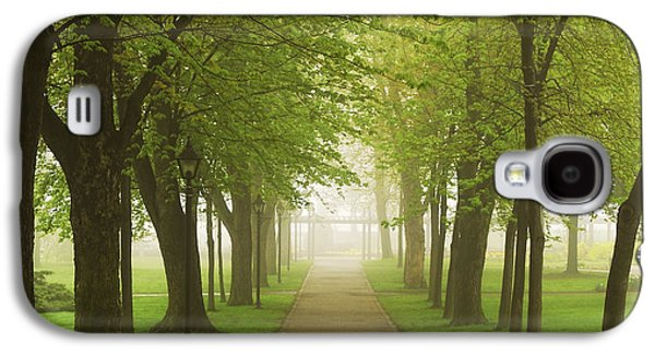 Foggy Park Galaxy S4 Case by Elena Elisseeva