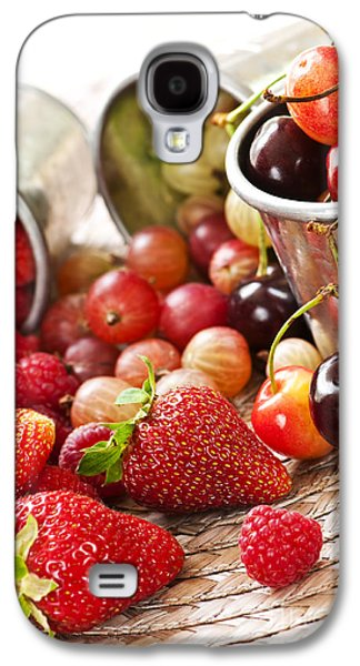 Local Food Galaxy S4 Cases - Fruits and berries Galaxy S4 Case by Elena Elisseeva