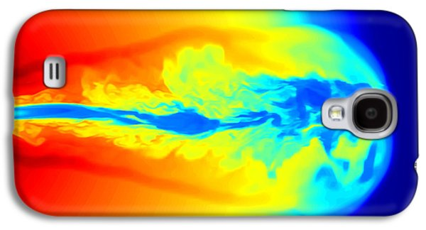 Jet Star Galaxy S4 Cases - Gamma Ray Burst Formation Galaxy S4 Case by Weiqun Zhangstan Woosley