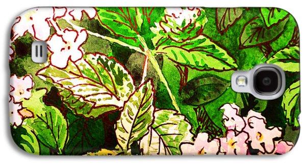 Garden Flowers Sketchbook Project Down My Street Galaxy S4 Case by Irina Sztukowski