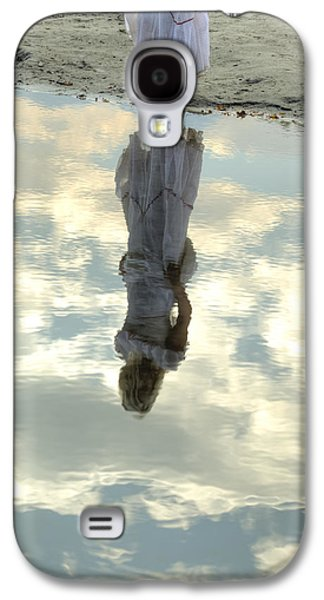 Woman Photographs Galaxy S4 Cases - Girl And The Sky Galaxy S4 Case by Joana Kruse