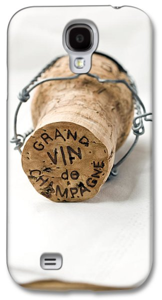 Wine Art Galaxy S4 Cases - Grand vin de Champagne Galaxy S4 Case by Frank Tschakert