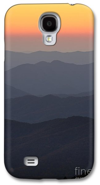 Amazing Sunset Galaxy S4 Cases - Great Smokie Mountains at Sunset Galaxy S4 Case by Dustin K Ryan