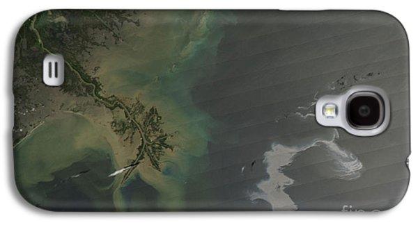 Oil Slick Galaxy S4 Cases - Gulf Oil Spill, April 2010 Galaxy S4 Case by Nasa