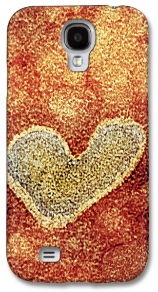 Virions Galaxy S4 Cases - H5n1 Avian Influenza Virus Particle, Tem Galaxy S4 Case by Nibsc