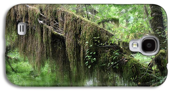 Tendrils Galaxy S4 Cases - Hall of Mosses - Hoh Rain Forest Olympic National Park WA USA Galaxy S4 Case by Christine Till
