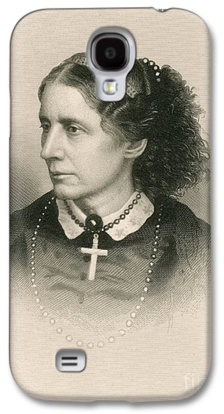 Antislavery Galaxy S4 Cases - Harriet Beecher Stowe, American Galaxy S4 Case by Photo Researchers