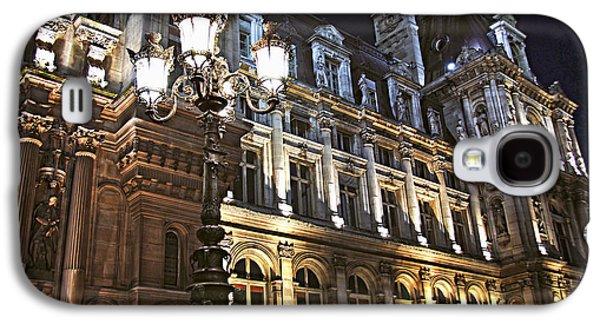 Hotel De Ville In Paris Galaxy S4 Case by Elena Elisseeva