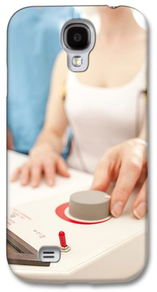 Iontophoresis For Excess Sweating Galaxy S4 Case by