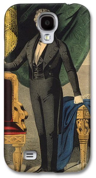 America First Party Galaxy S4 Cases - James Polk, 11th American President Galaxy S4 Case by Photo Researchers