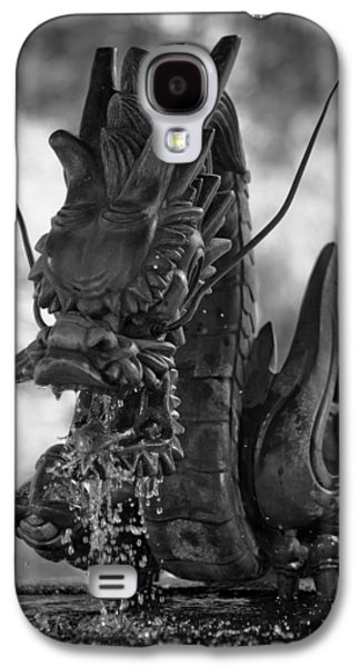 Dragon Photographs Galaxy S4 Cases - Japanese Water Dragon Galaxy S4 Case by Sebastian Musial