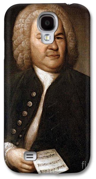 Personalities Photographs Galaxy S4 Cases - Johann Sebastian Bach, German Baroque Galaxy S4 Case by Photo Researchers