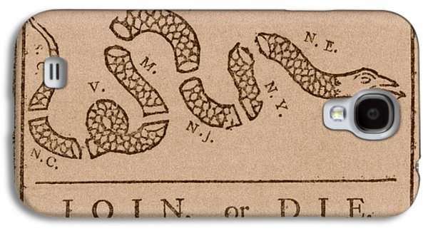 Americans Mixed Media Galaxy S4 Cases - Join or Die Galaxy S4 Case by War Is Hell Store