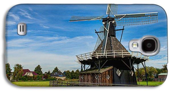 Windmill Galaxy S4 Cases - Koudum Molen Galaxy S4 Case by Chad Dutson