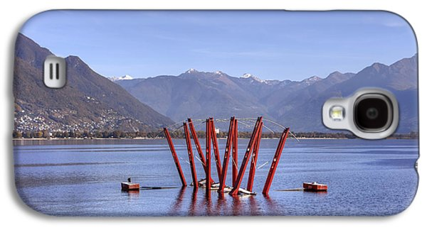 Installation Art Galaxy S4 Cases - Lake Maggiore Locarno Galaxy S4 Case by Joana Kruse