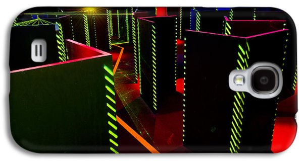 Electrical Equipment Photographs Galaxy S4 Cases - Laser Game Area With Obstacles Galaxy S4 Case by Corepics