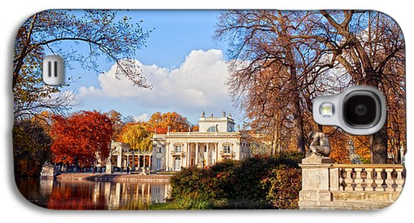 Polish Culture Galaxy S4 Cases - Lazienki Park in Warsaw Galaxy S4 Case by Artur Bogacki